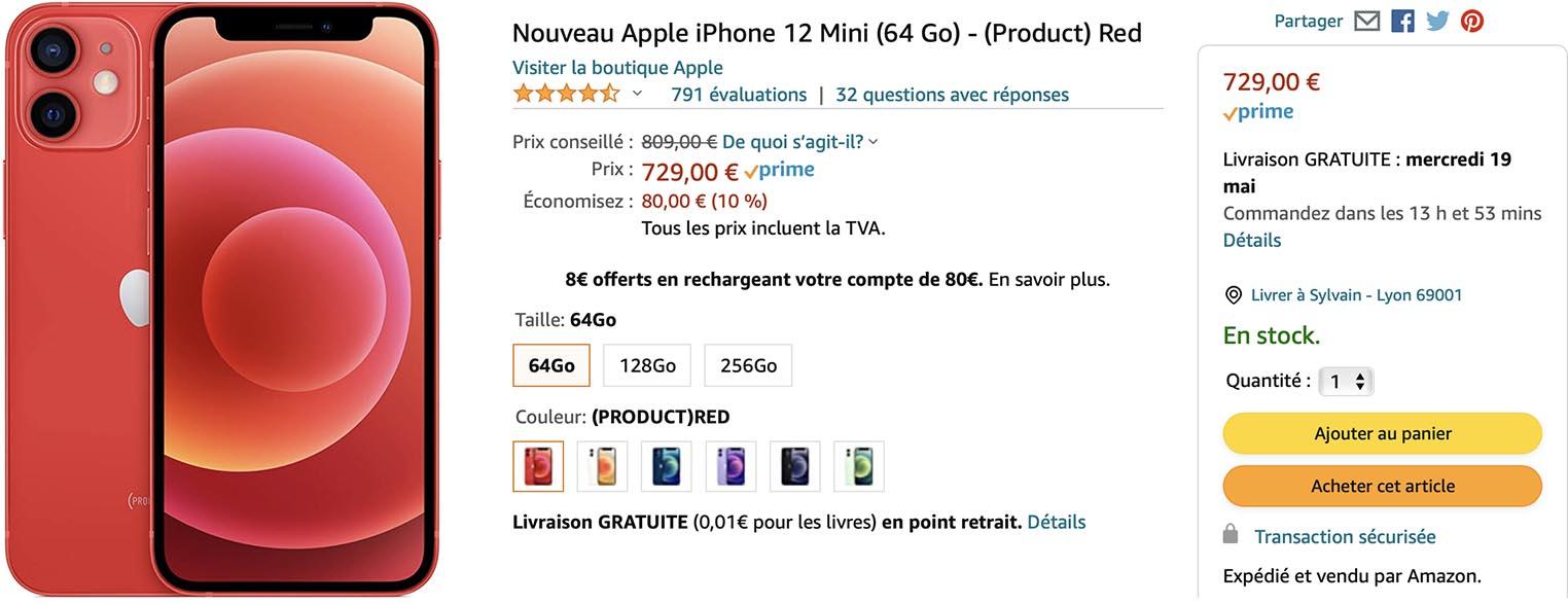 iPhone 12 mini promo Amazon
