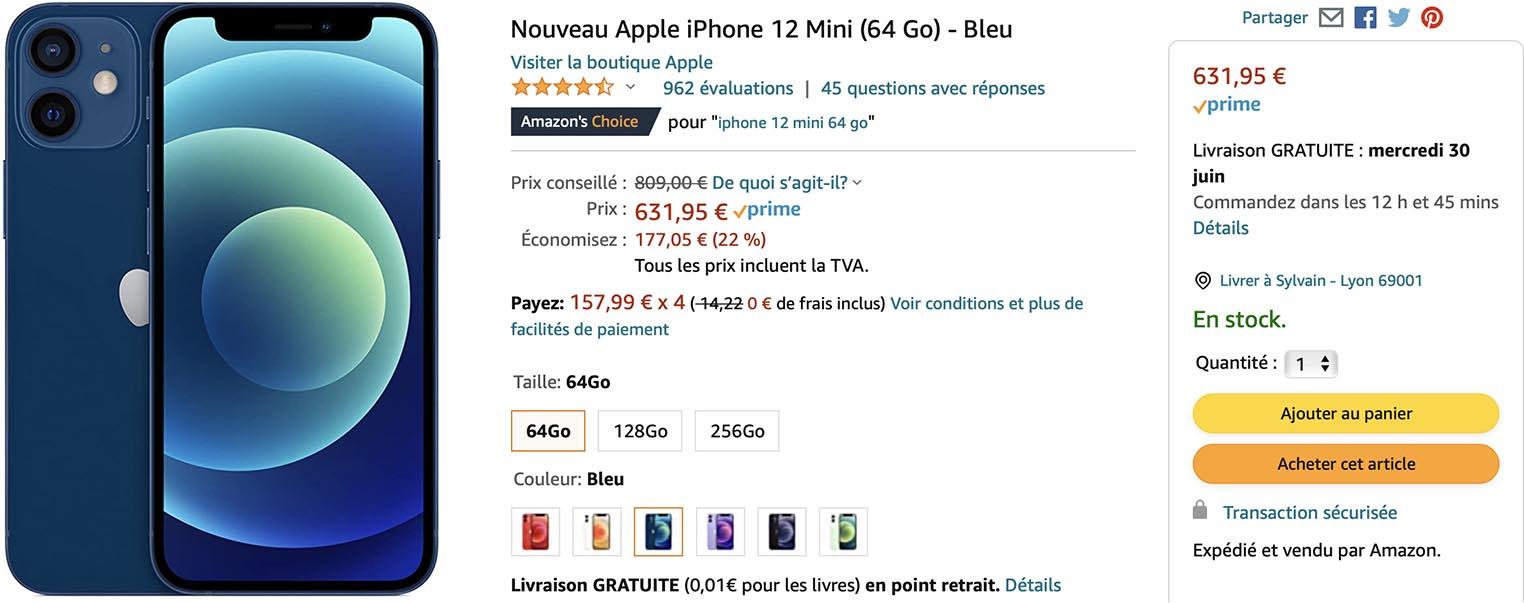 iPhone 12 mini Amazon