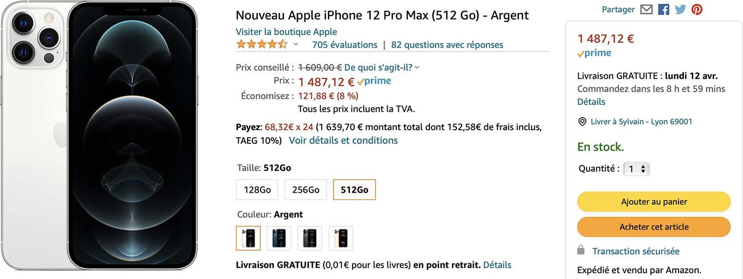 iPhone 12 Pro Max Amazon