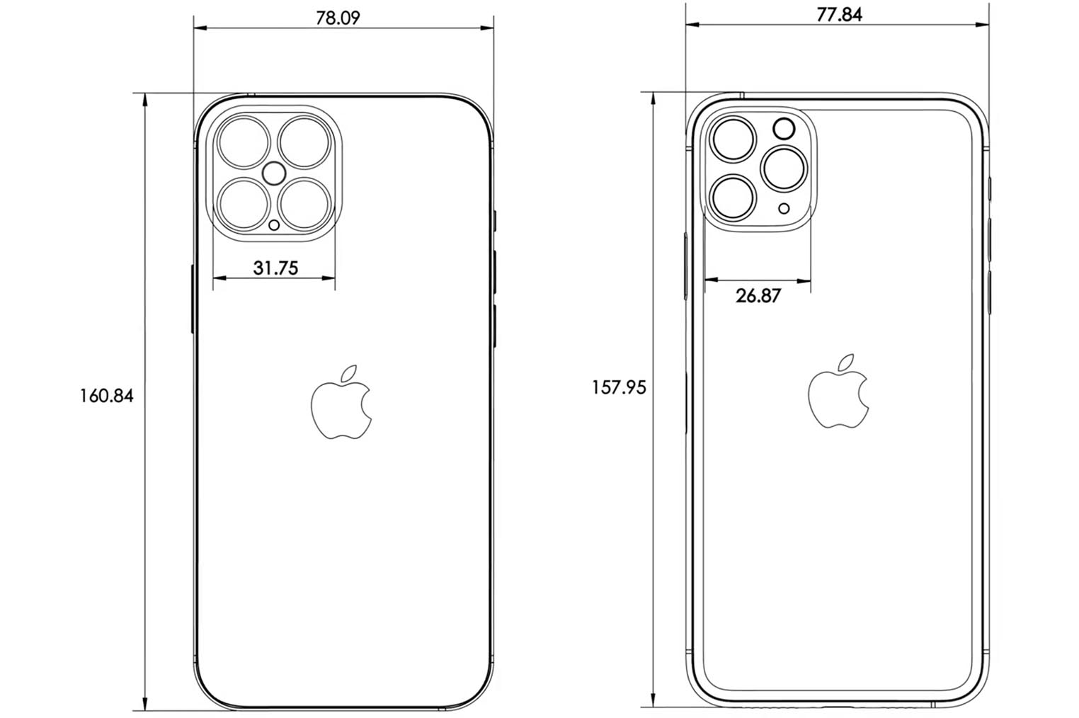 iPhone 12 Pro Max dimensions