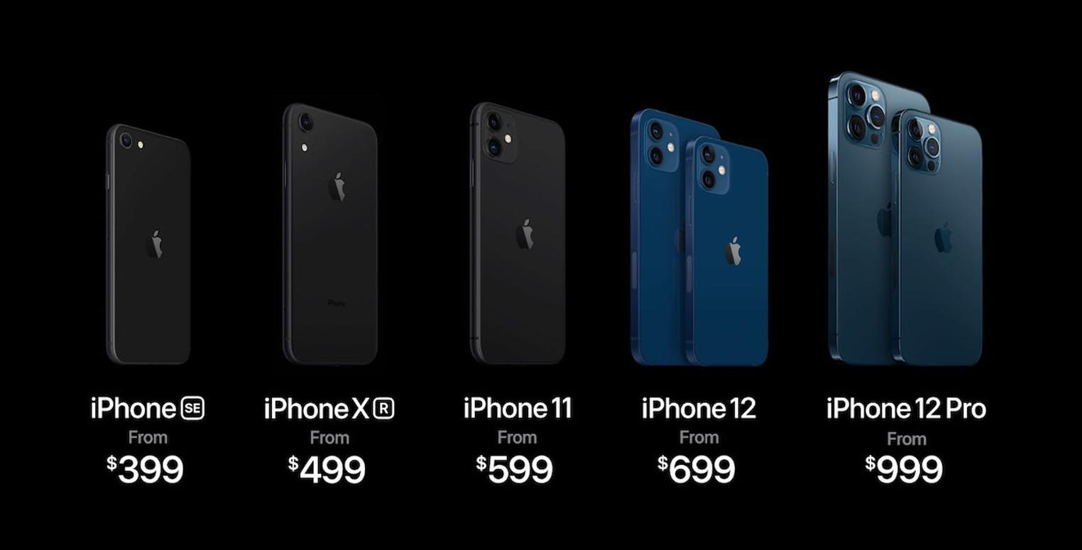 iPhone 12 Gamme 2020