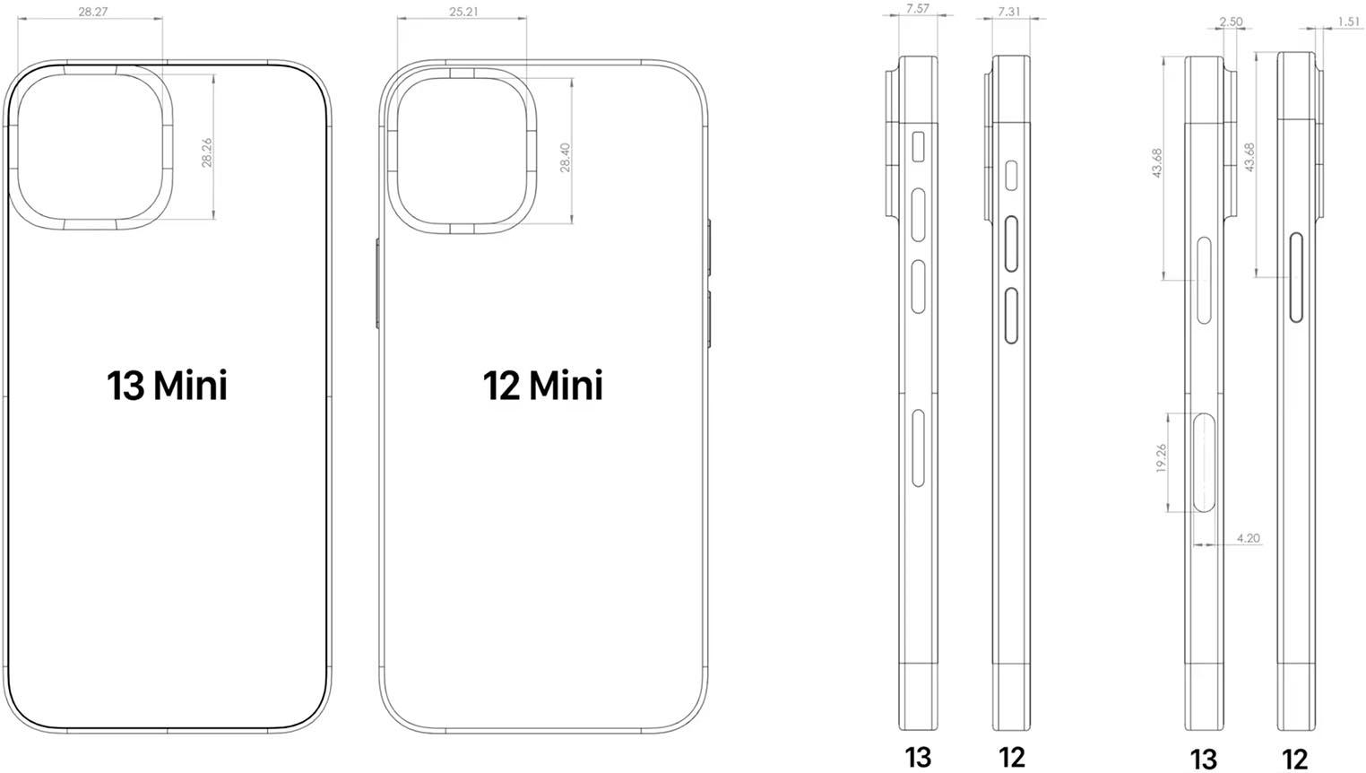 CAD iPhone 13 mini