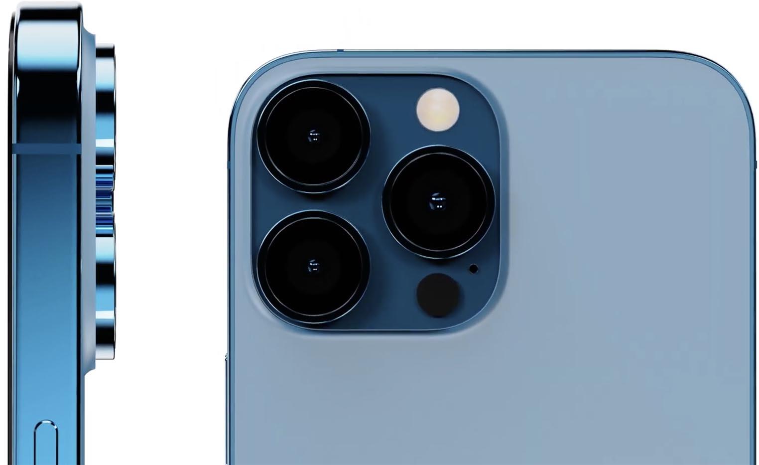 Rendus appareils photos iPhone 13 Pro
