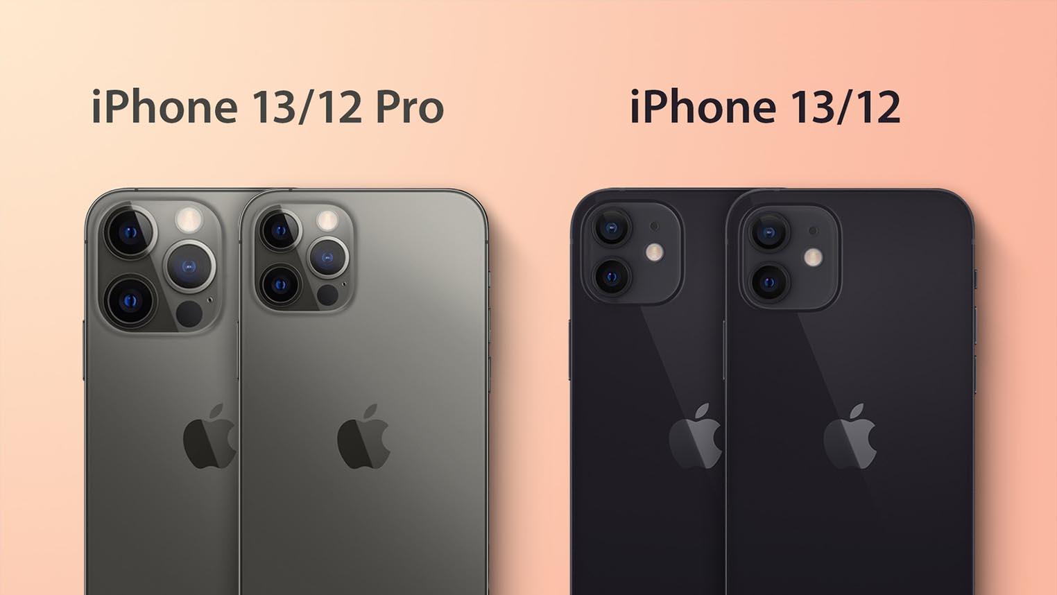 iPhone 13 iPhone 13 Pro épaisseur