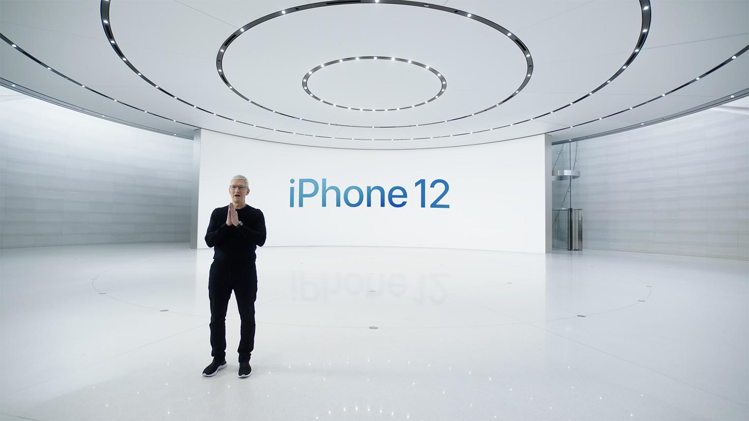 Tim Cook présentation iPhone 12