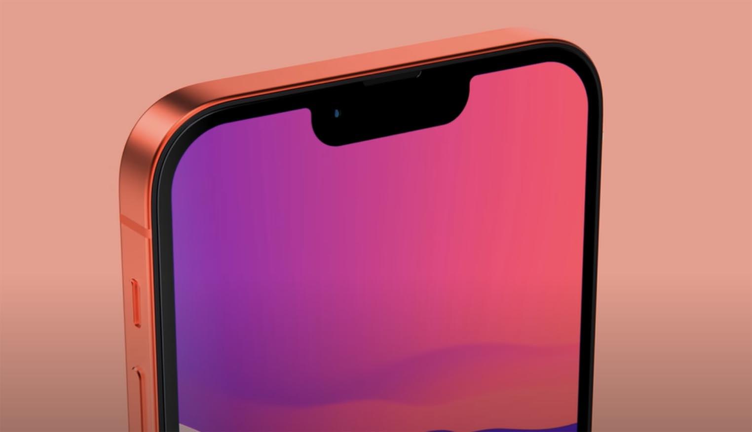 Concept encoche iPhone 13
