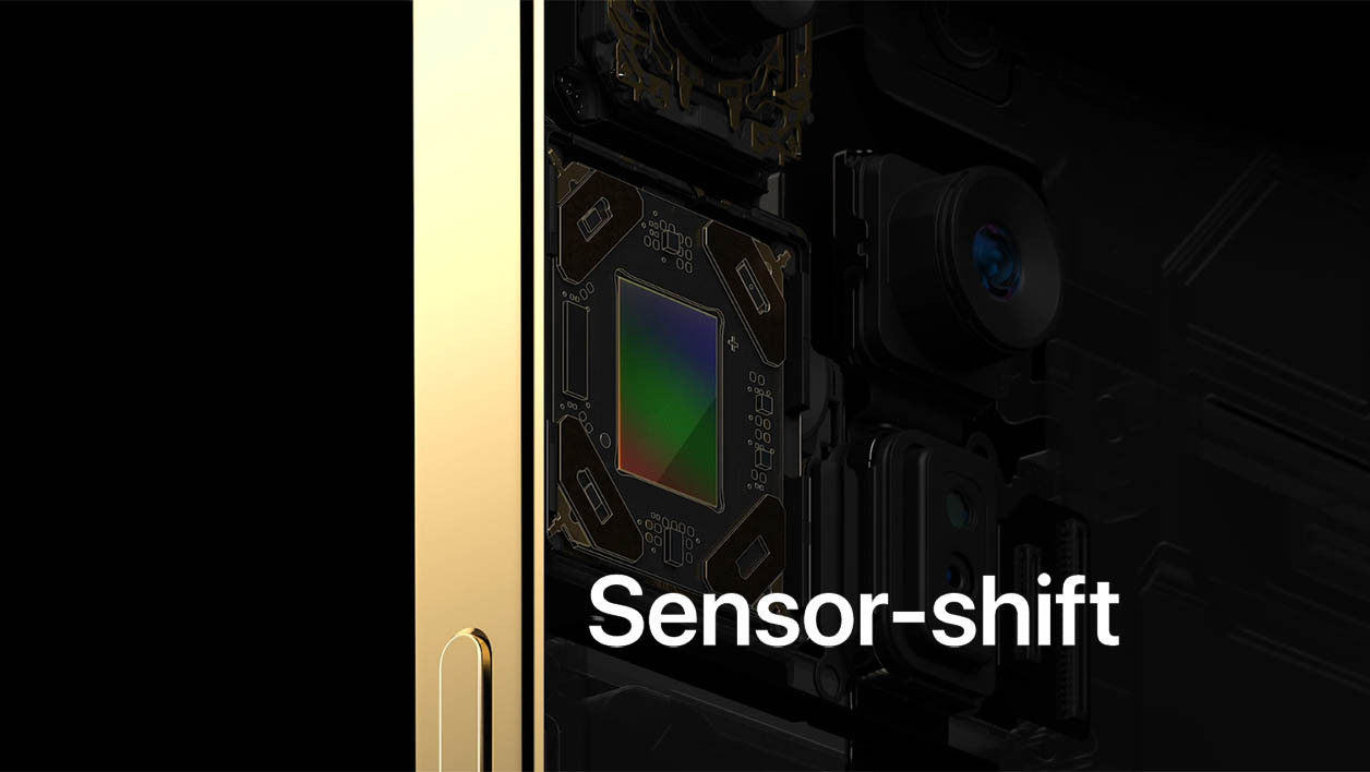 iPhone Sensor Shift