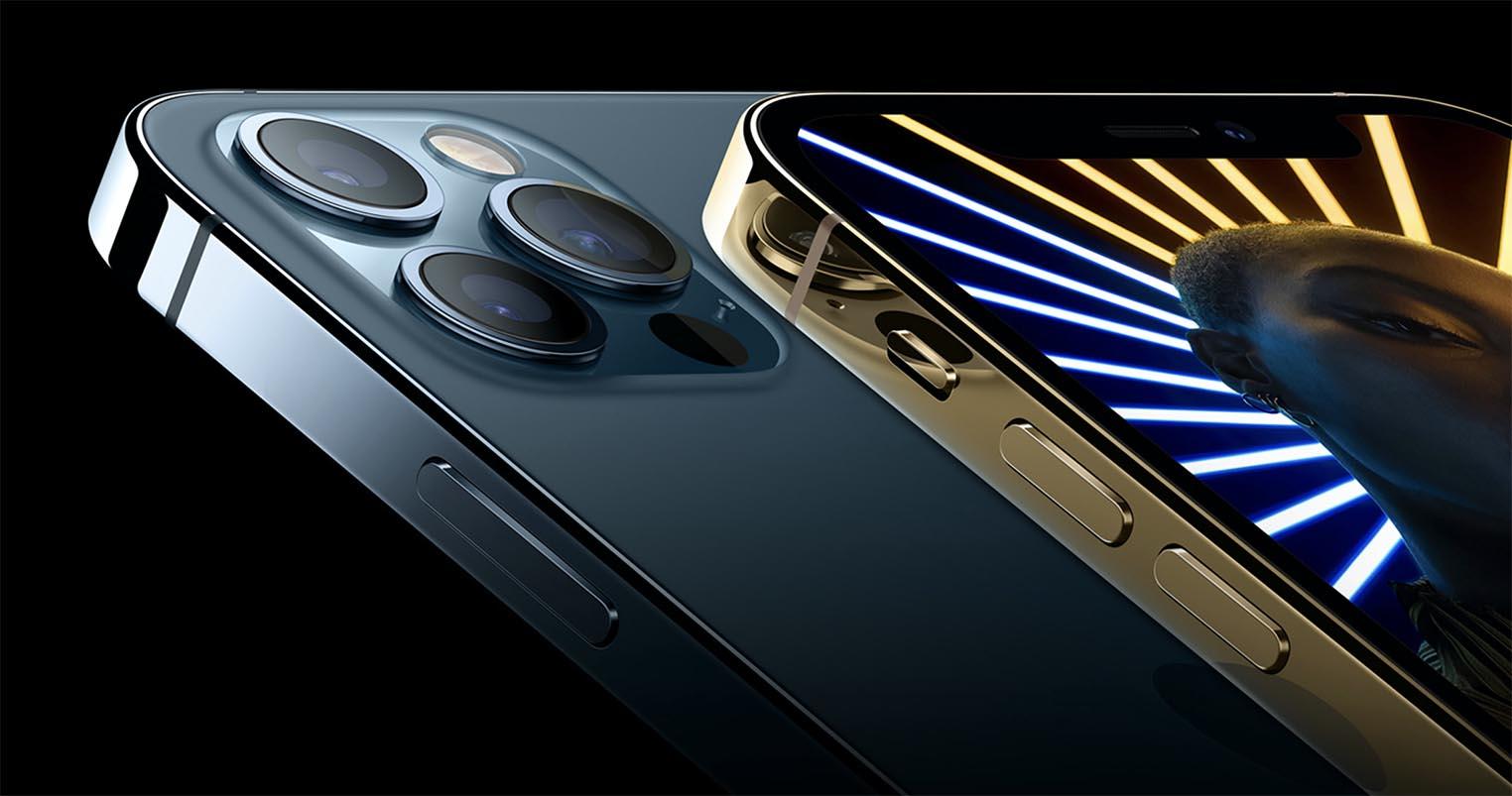 iPhone 12 Pro acier