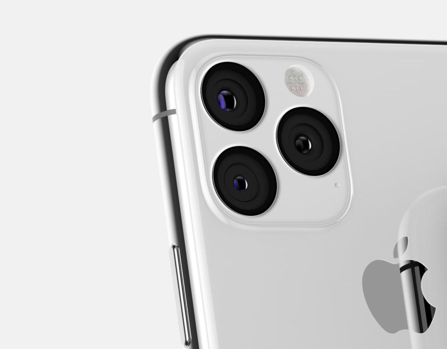 iPhone 2019 argent