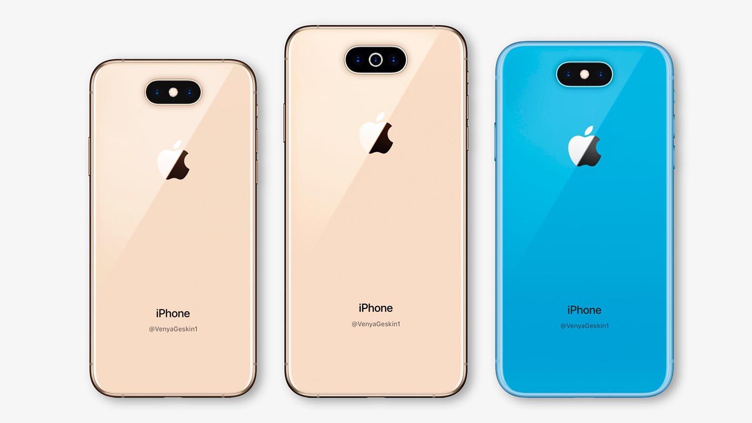 iPhone 2019 rendu