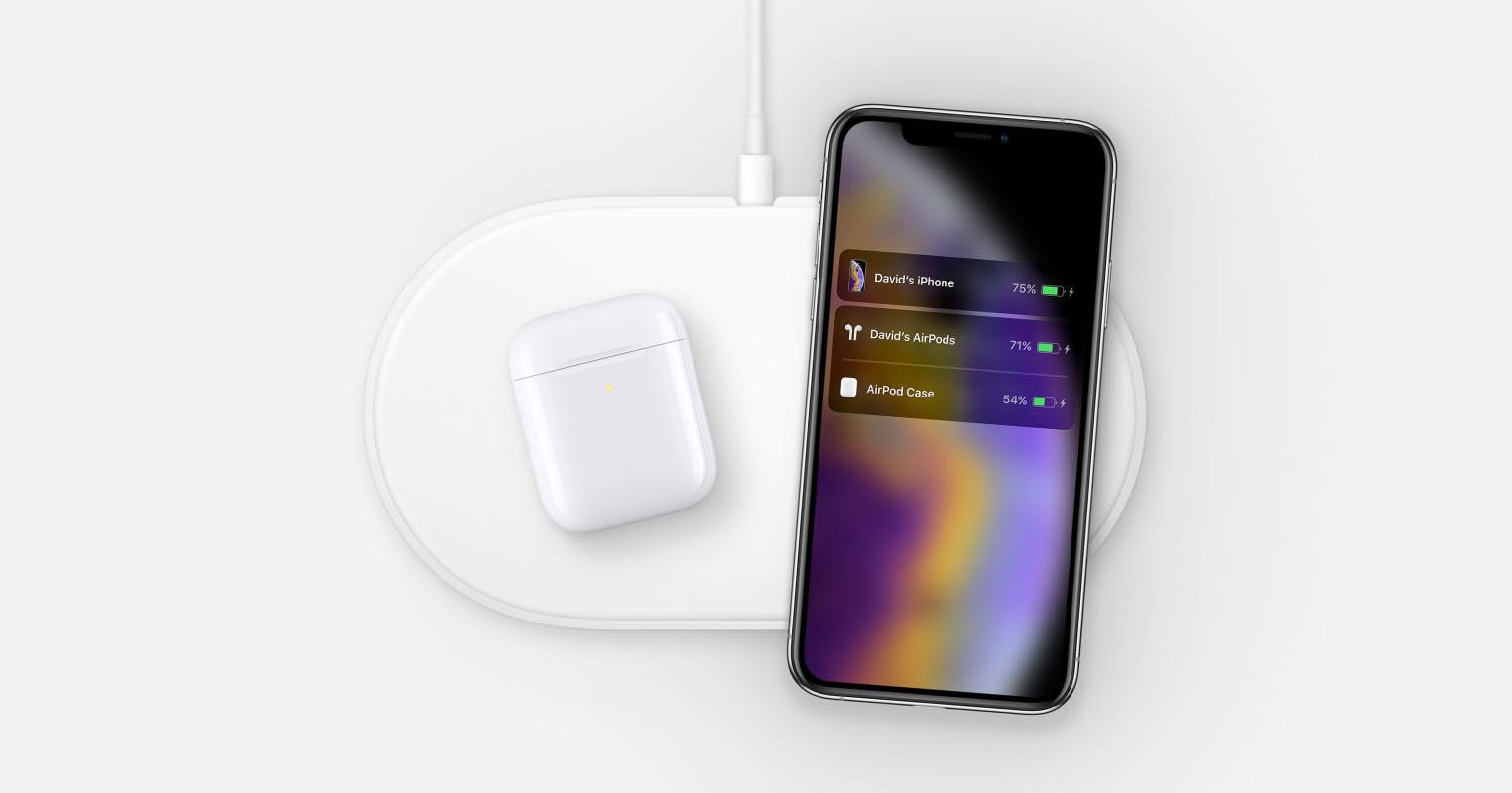 AirPods iPhone AirPower