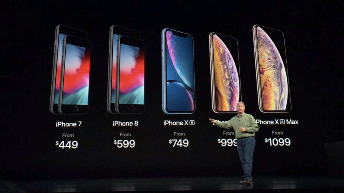 iPhone 2018 gamme keynote