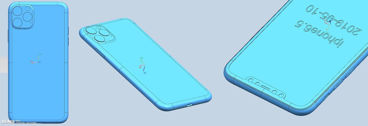iPhone 2019 schémas industriels