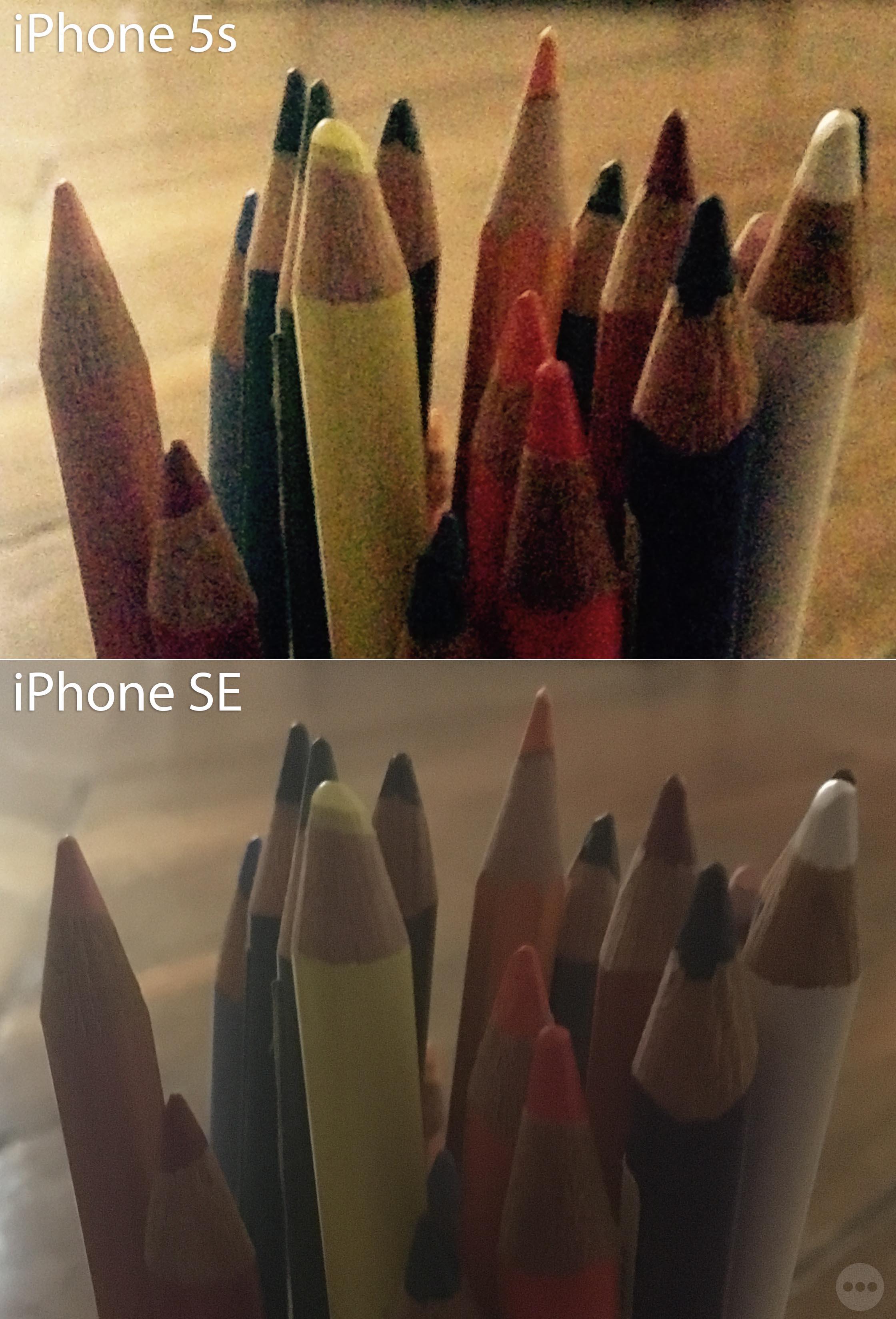 iPhone SE 5s comparaison