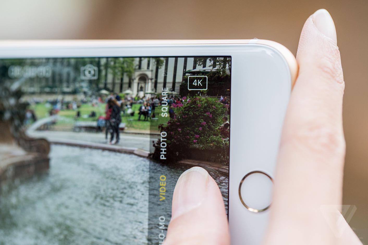 iPhone 6s Plus 4K vidéo