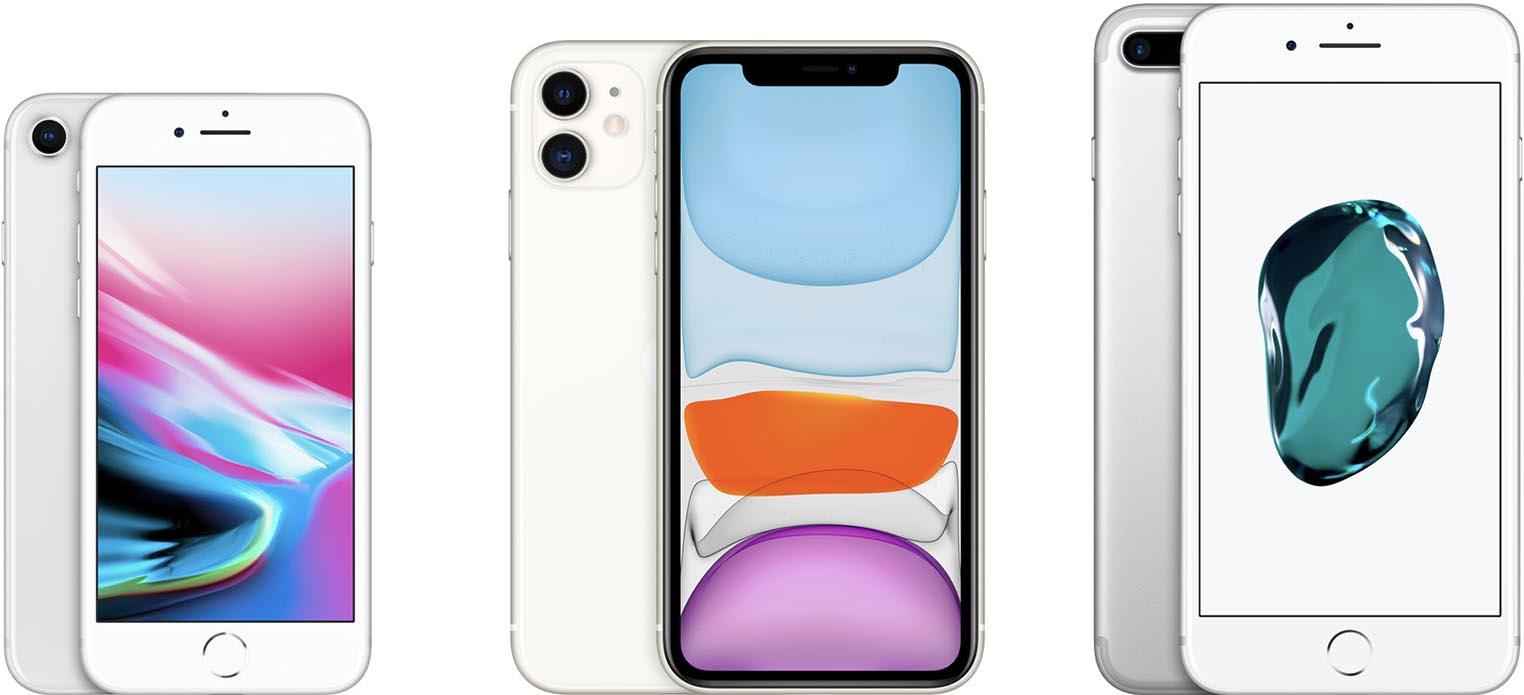 iPhone 8 iPhone 11 iPhone 8 Plus
