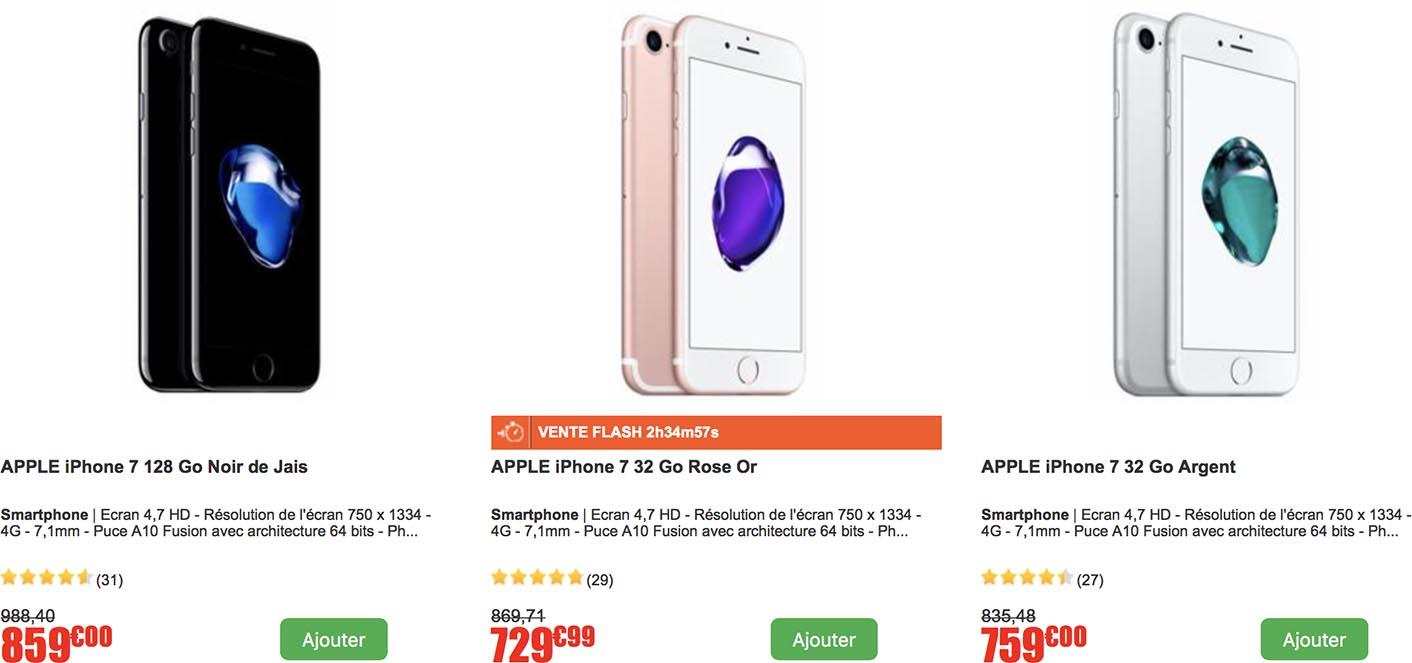 iPhone vente privée CDiscount