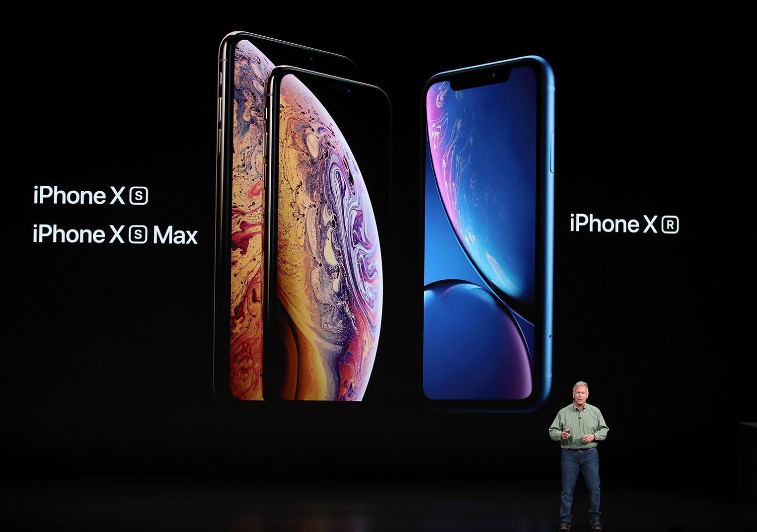 iPhone XS iPhone XR keynote
