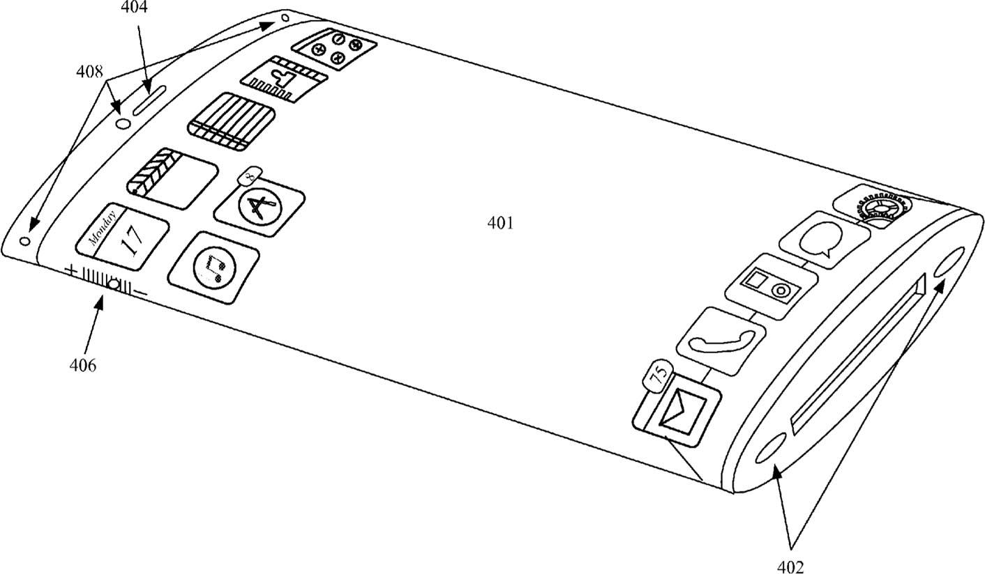 iPhone Edge brevet