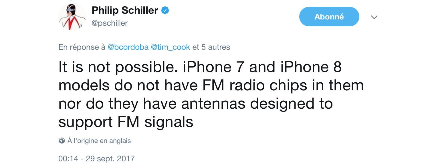 iPhone FM Phil Schiller