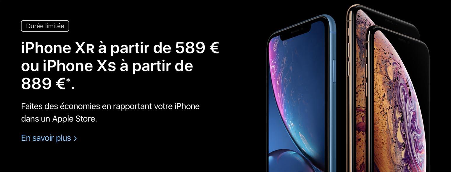 iPhone GiveBack France