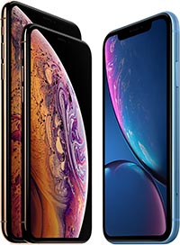 iPhone XS XR