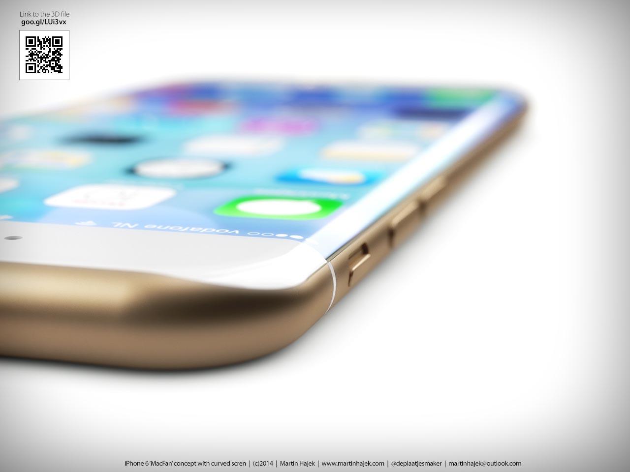 iPhone OLED Hajek