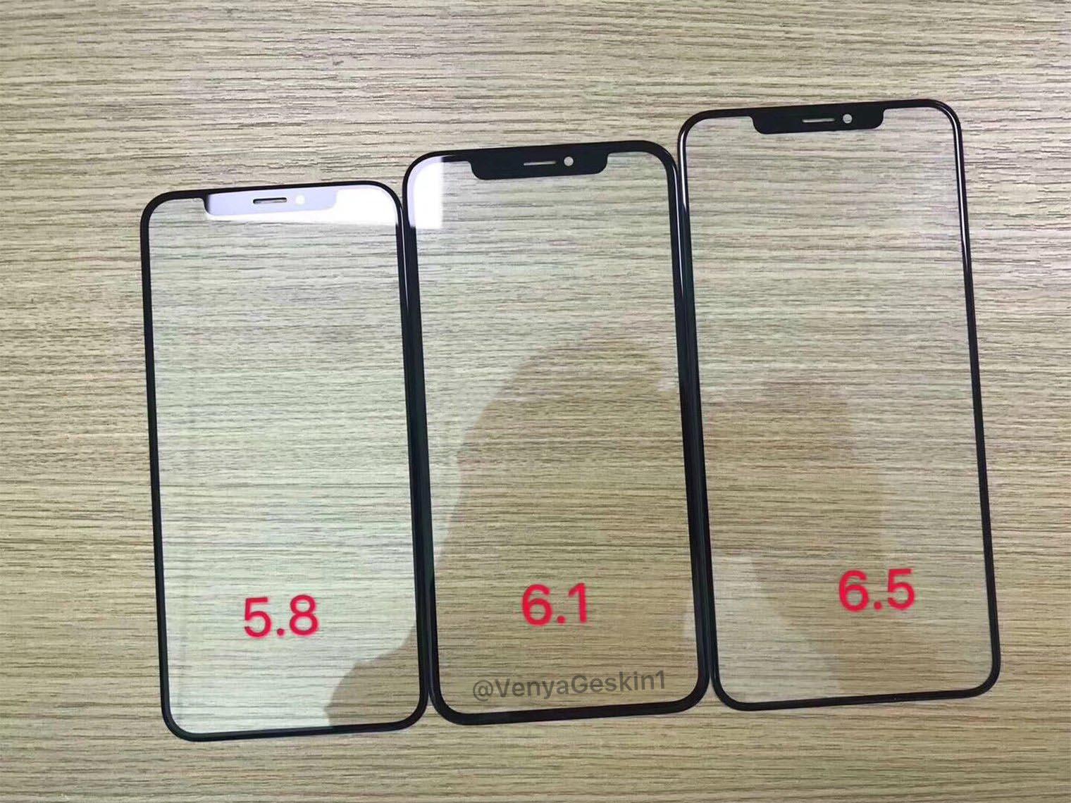iPhone vitres 2018