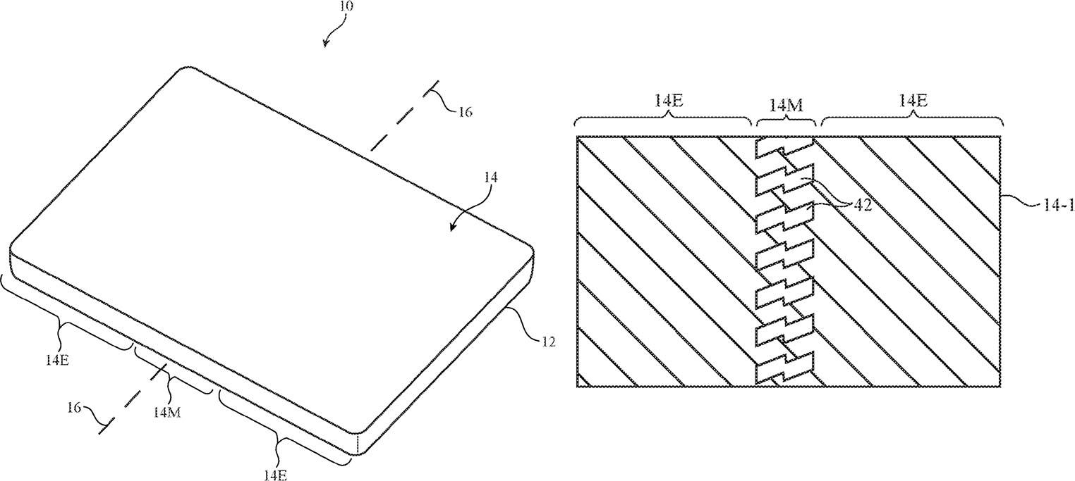iPhone pliable brevet
