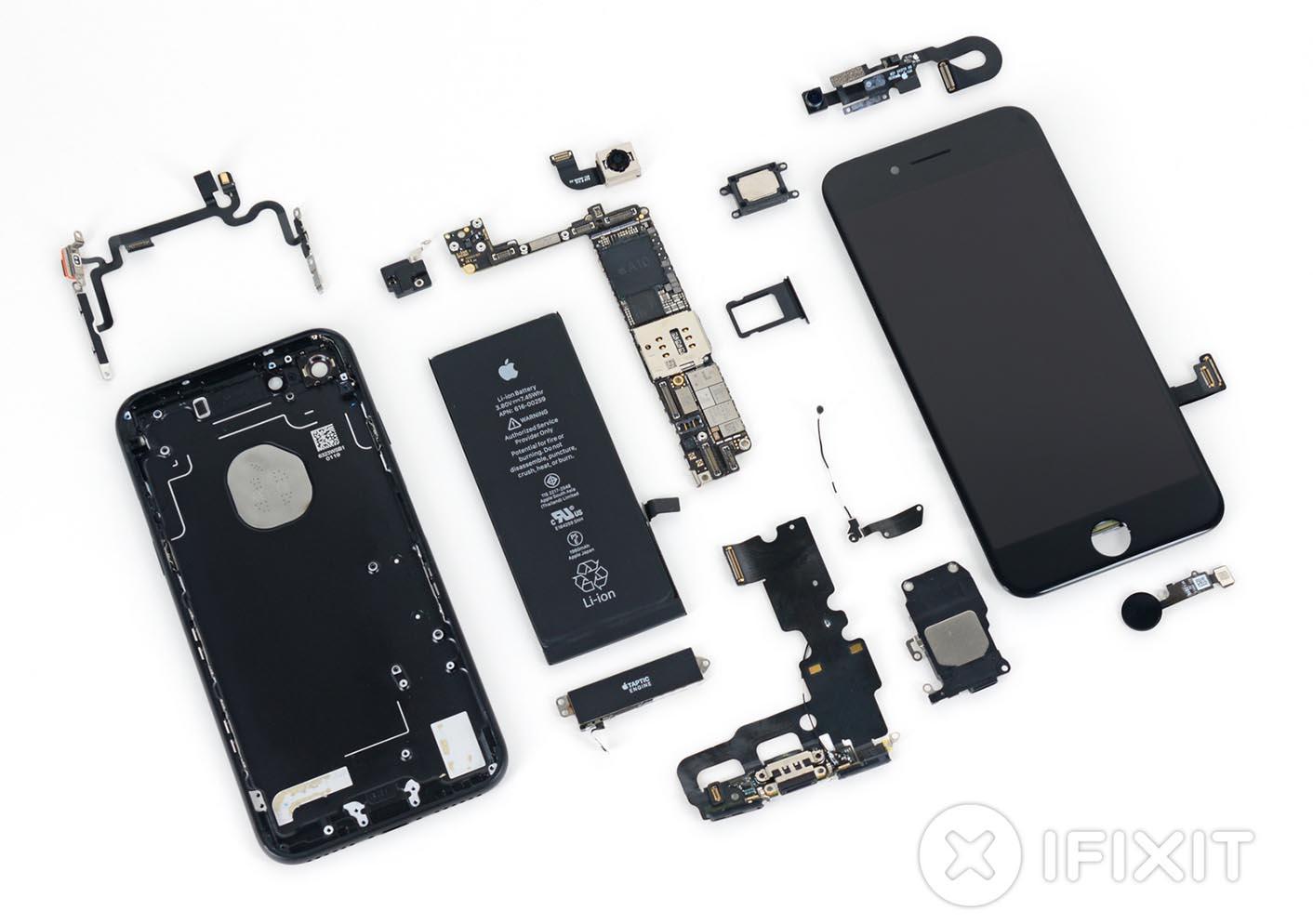 iPhone 7 démonté iFixit