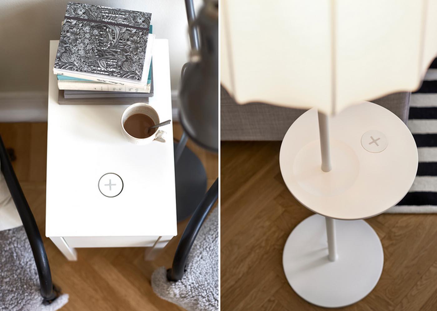 Ikea QI recharge induction