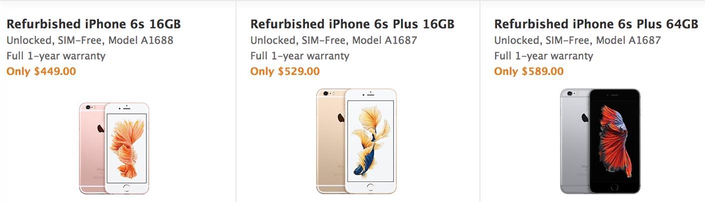 iPhone Refurb