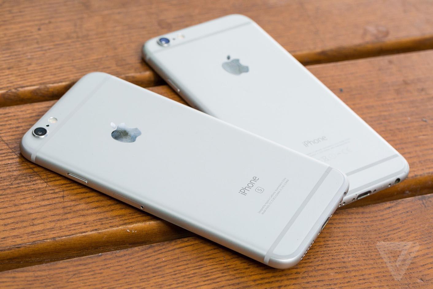 iPhone 6s arrière