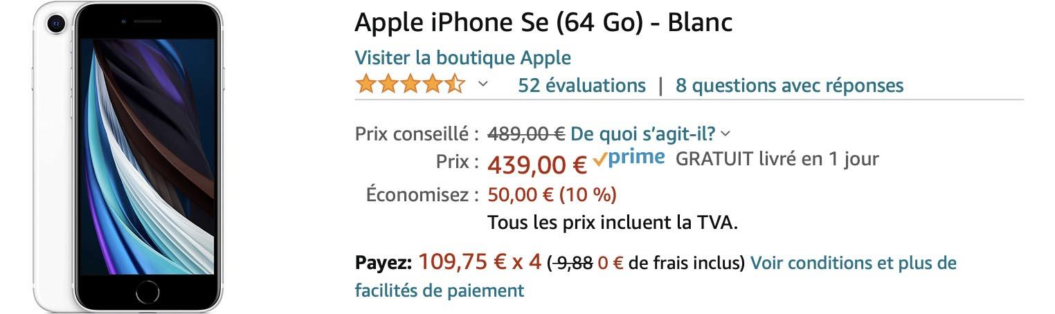 iPhone SE Amazon