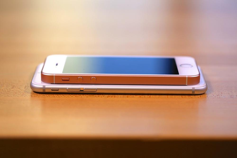 comparatif iphone 6s et iphone se