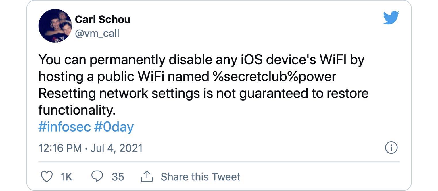 iPhone Wi-Fi %secretclub%power
