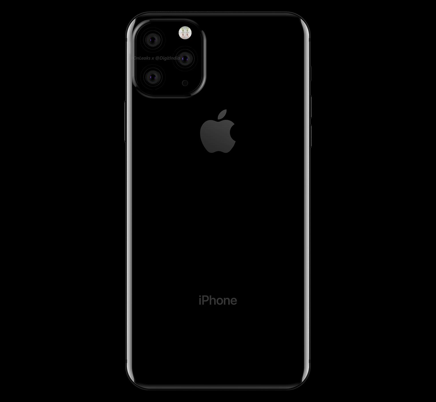 iPhone XI rendu