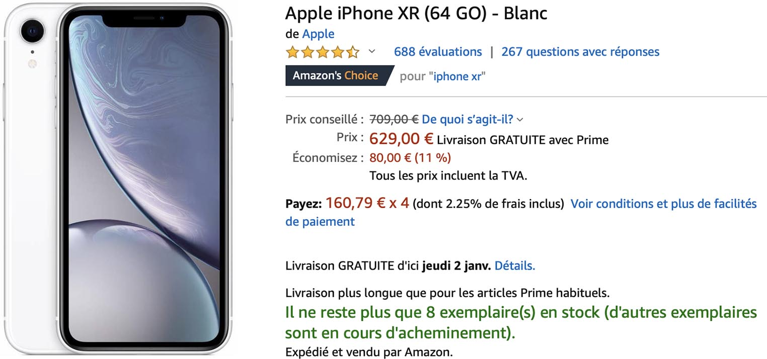 iPhone XR aAmazno