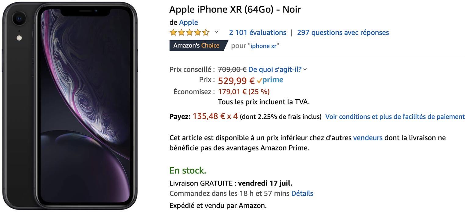 iPhone XR Amazon