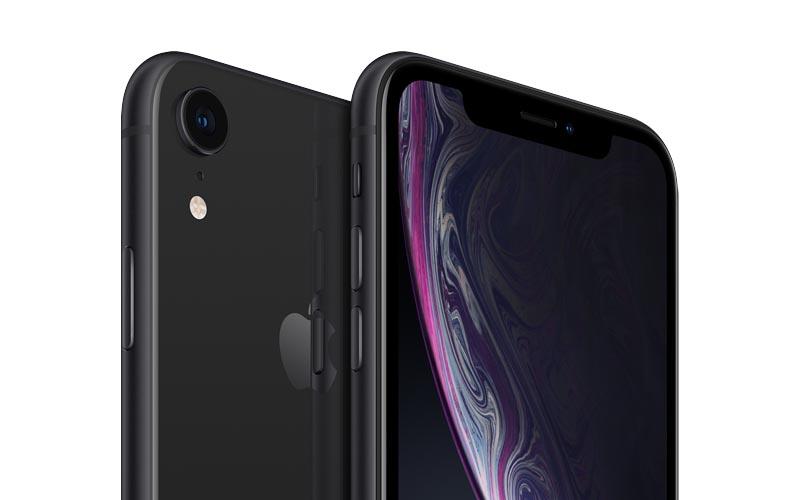 L'iPhone XR noir de 64 Go en promo à 659 €