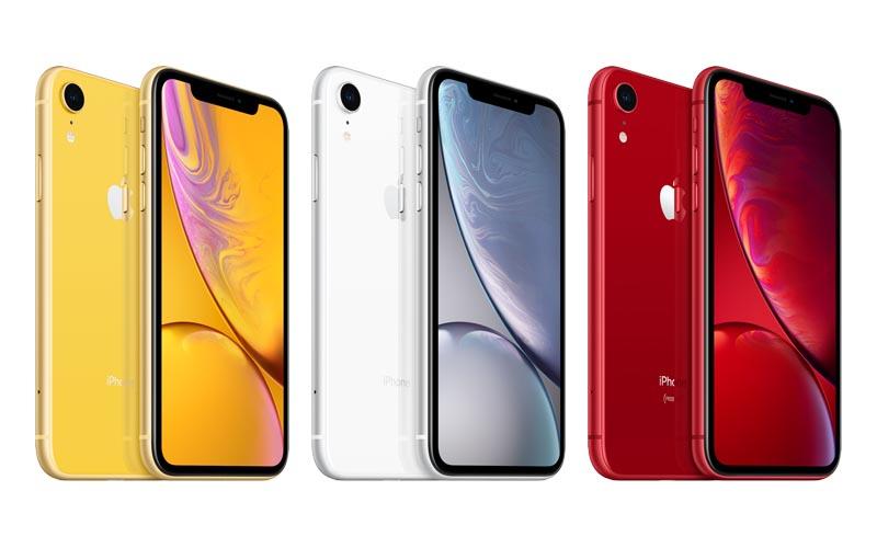 Trois iPhone XR de 64 Go neufs à 629 €