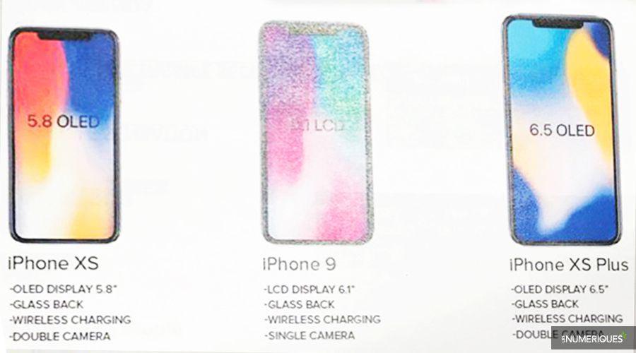 Rumeur iPhone XS