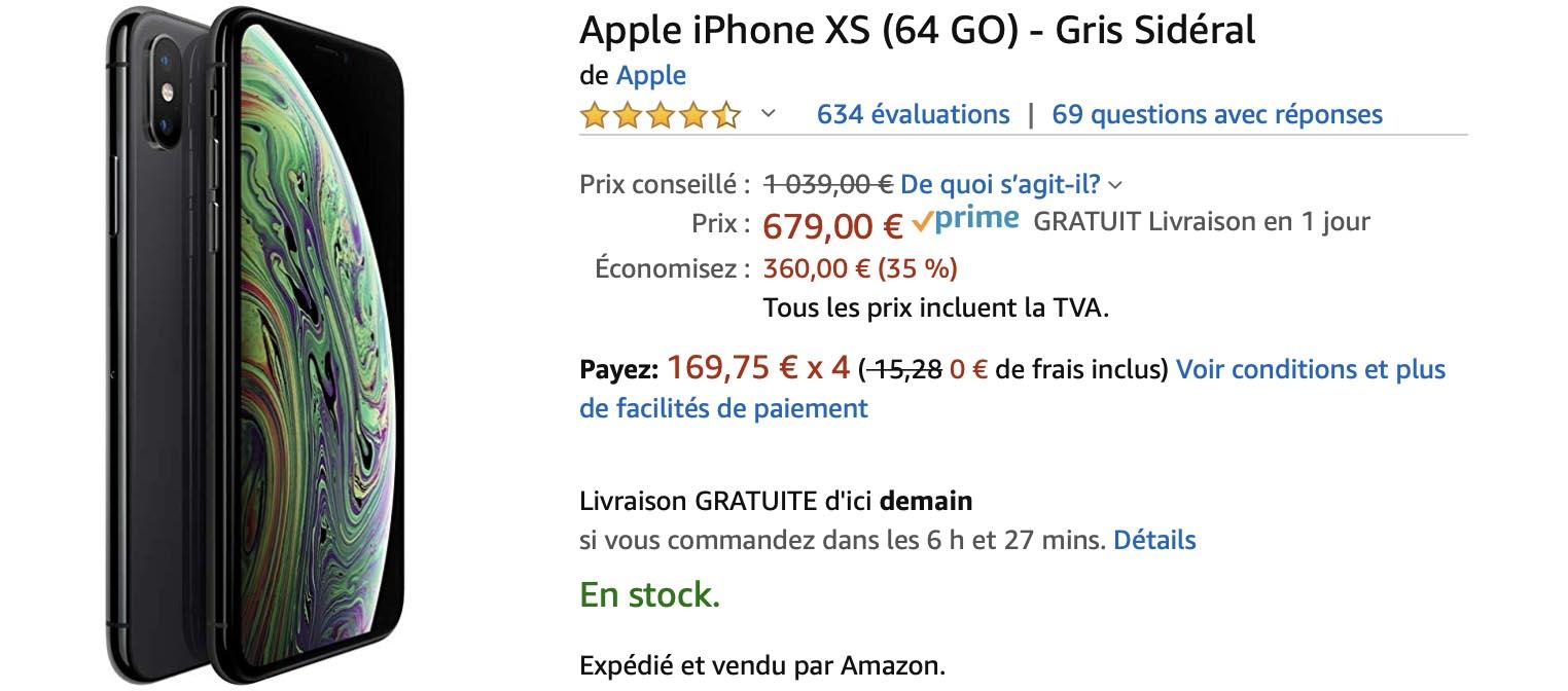 iPhone XS Amazon
