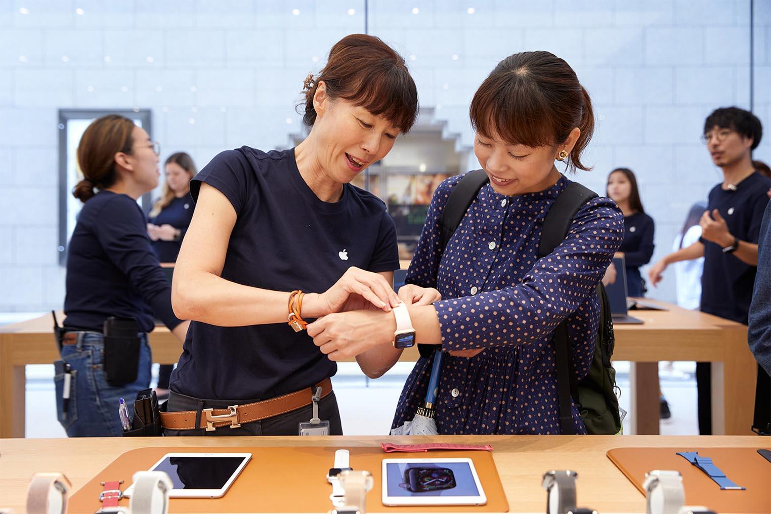 Lancement iPhone XS Apple Watch 4