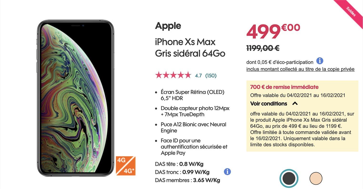iPhone XS Max Sosh