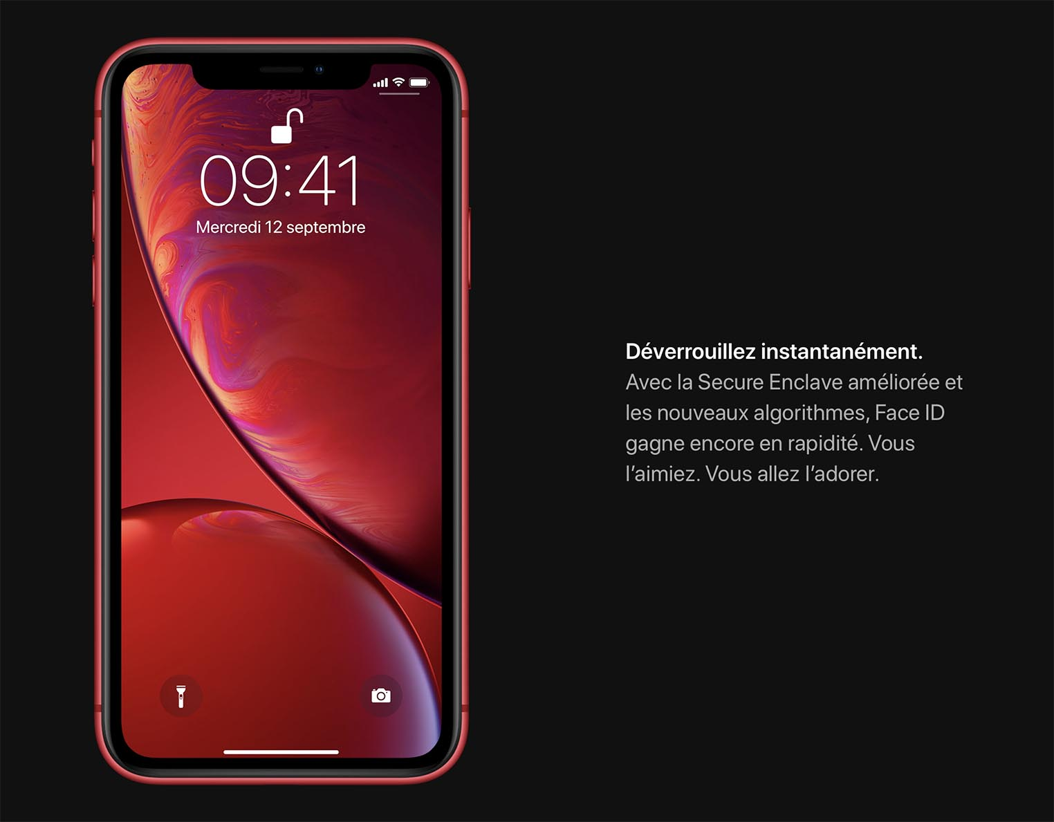 iPhone XS XR Face ID
