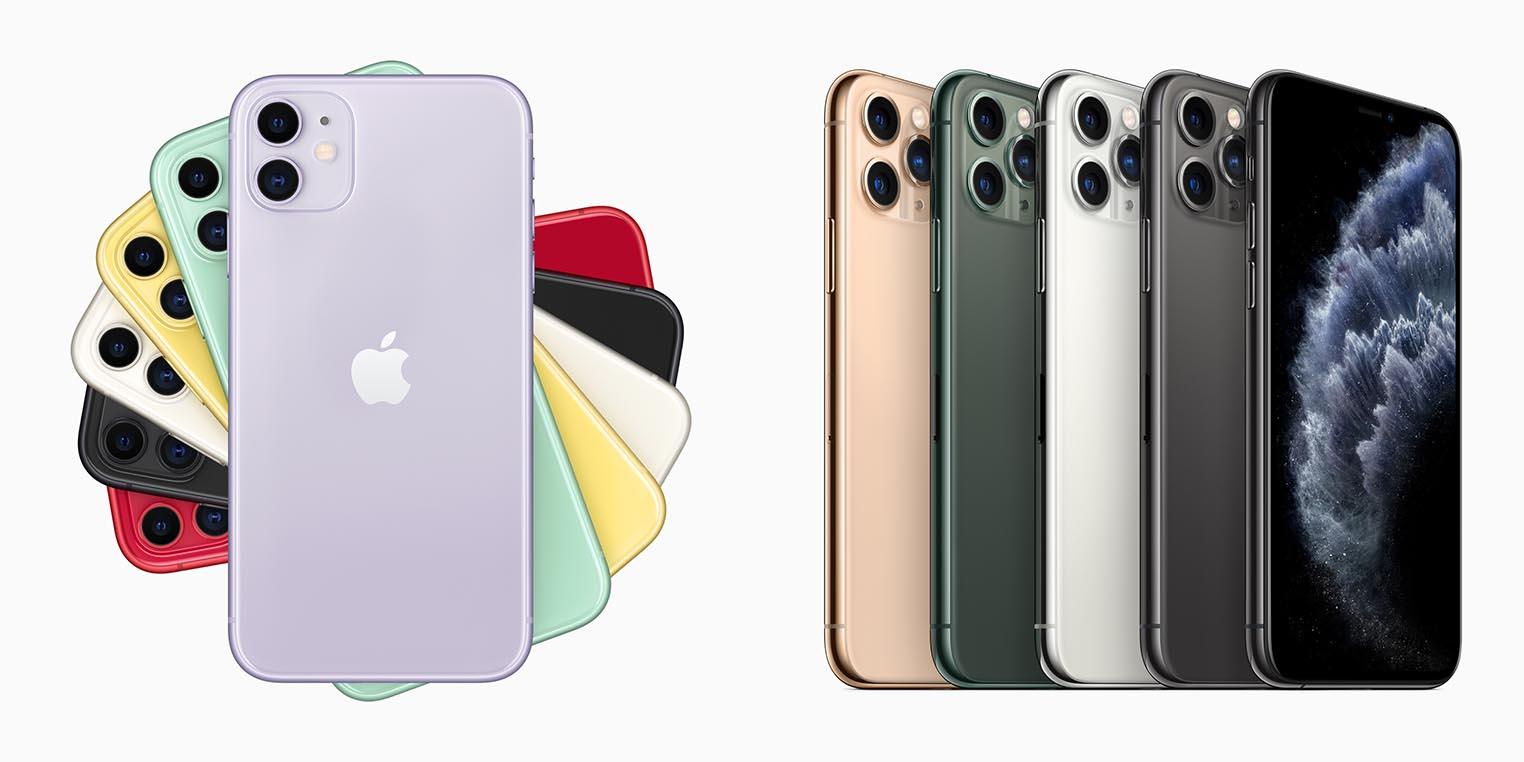 Précommandes iPhone 11