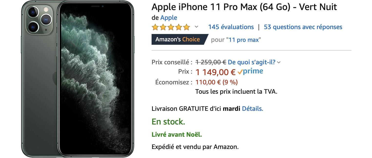 iPhone 11 Pro Max Amazon