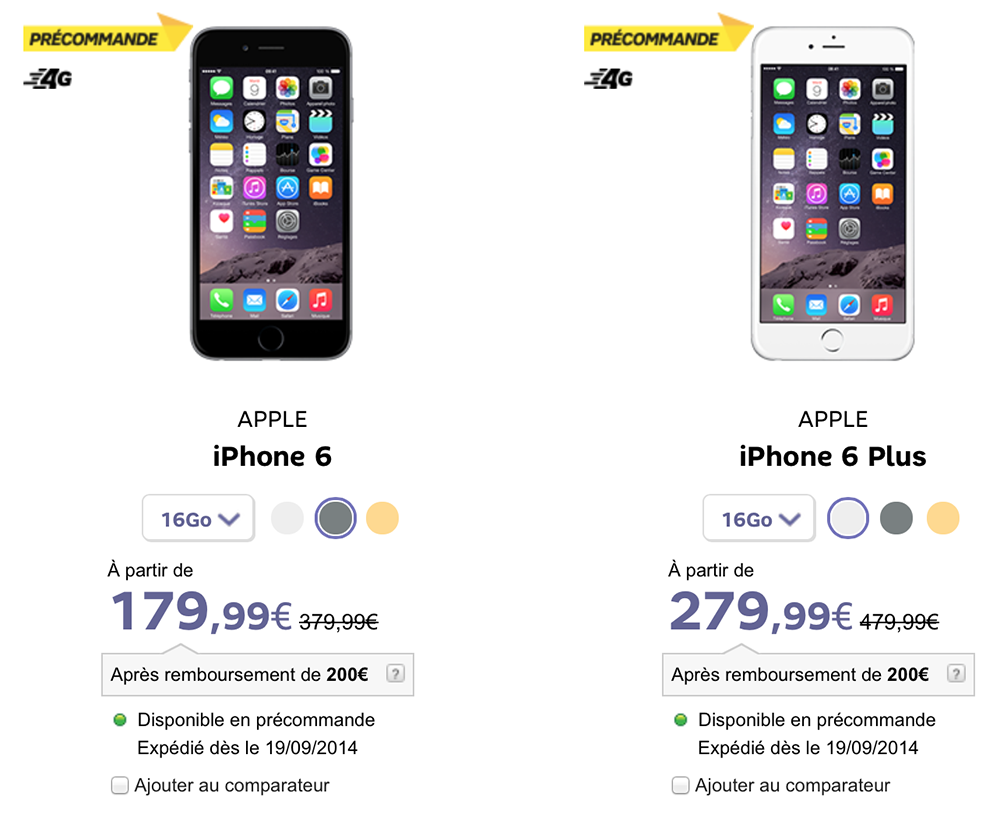REFURBISHED IPHONE 6 200 EURO