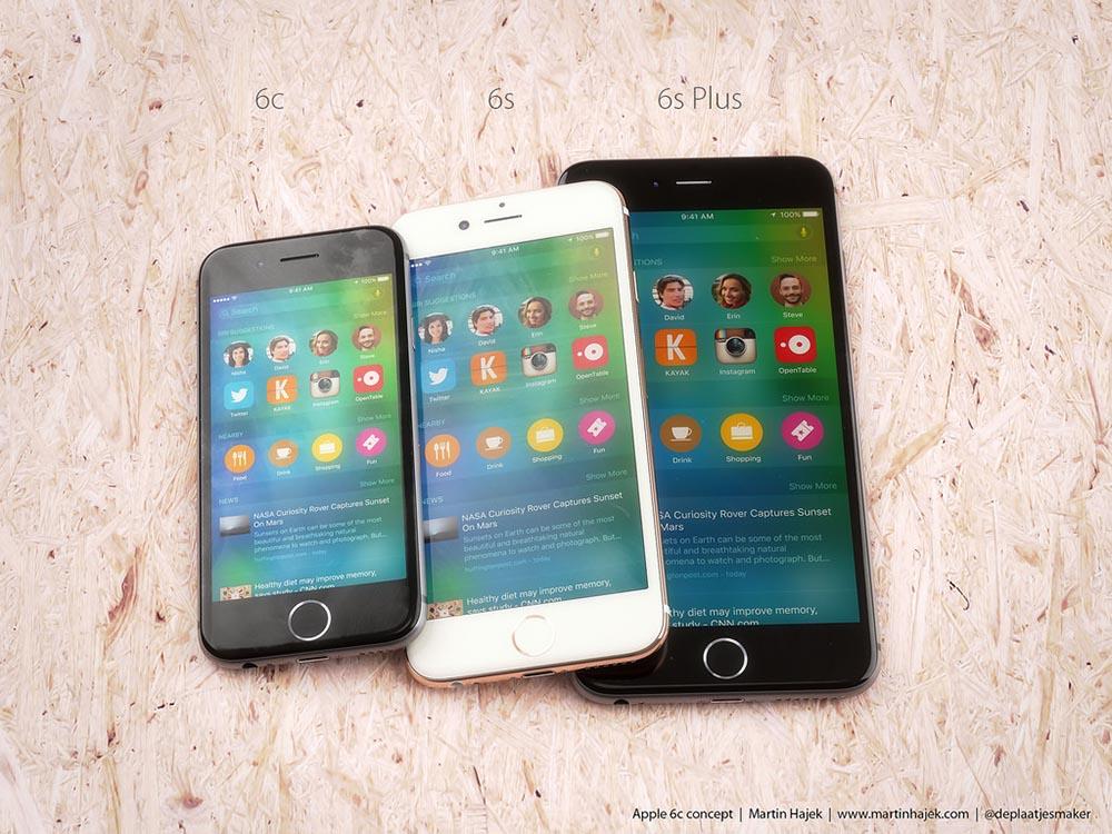 Concept iPhone 6c métal